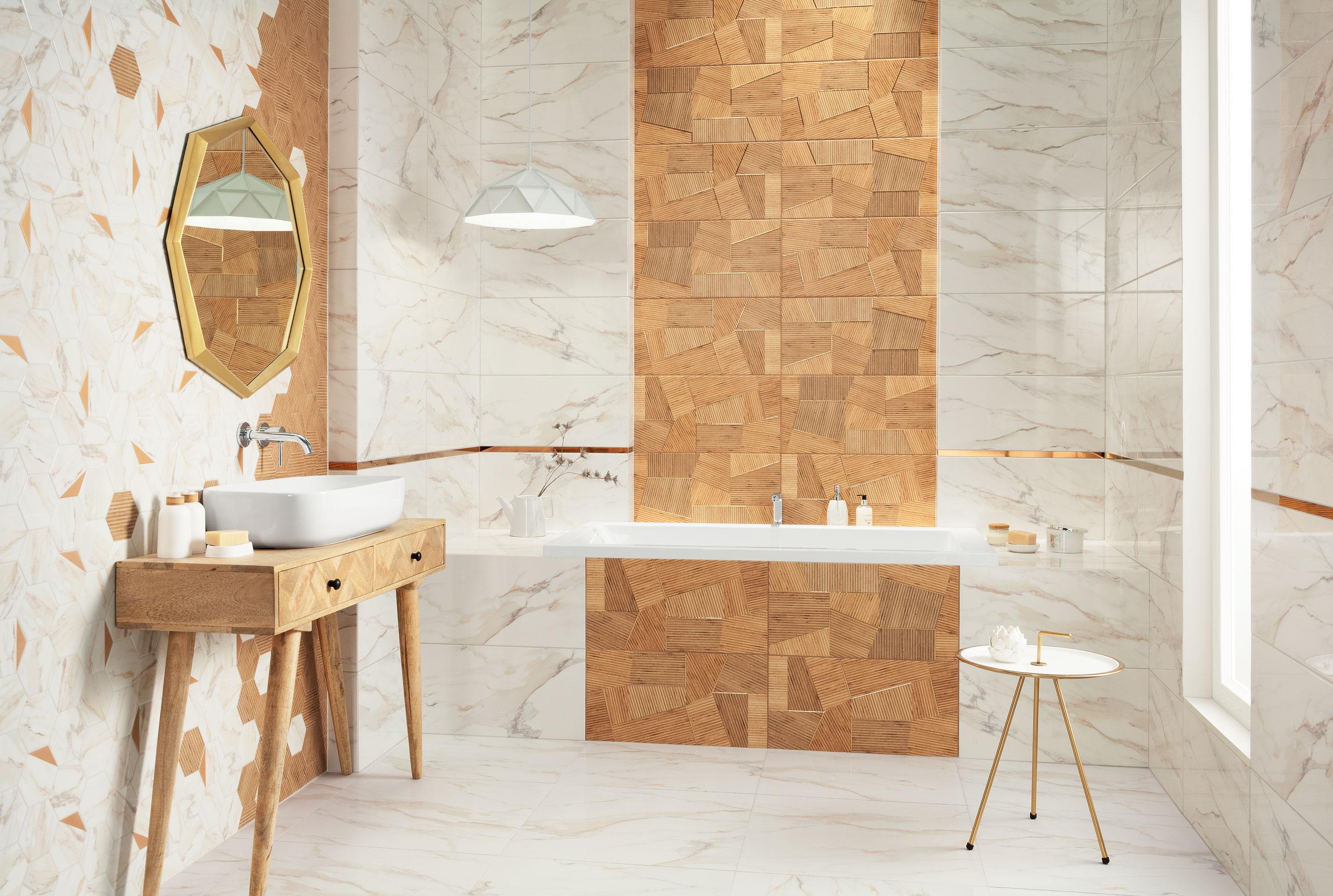 Łazienka z charakterem - nowości marki DOMINO w formacie 30 x 60 cm