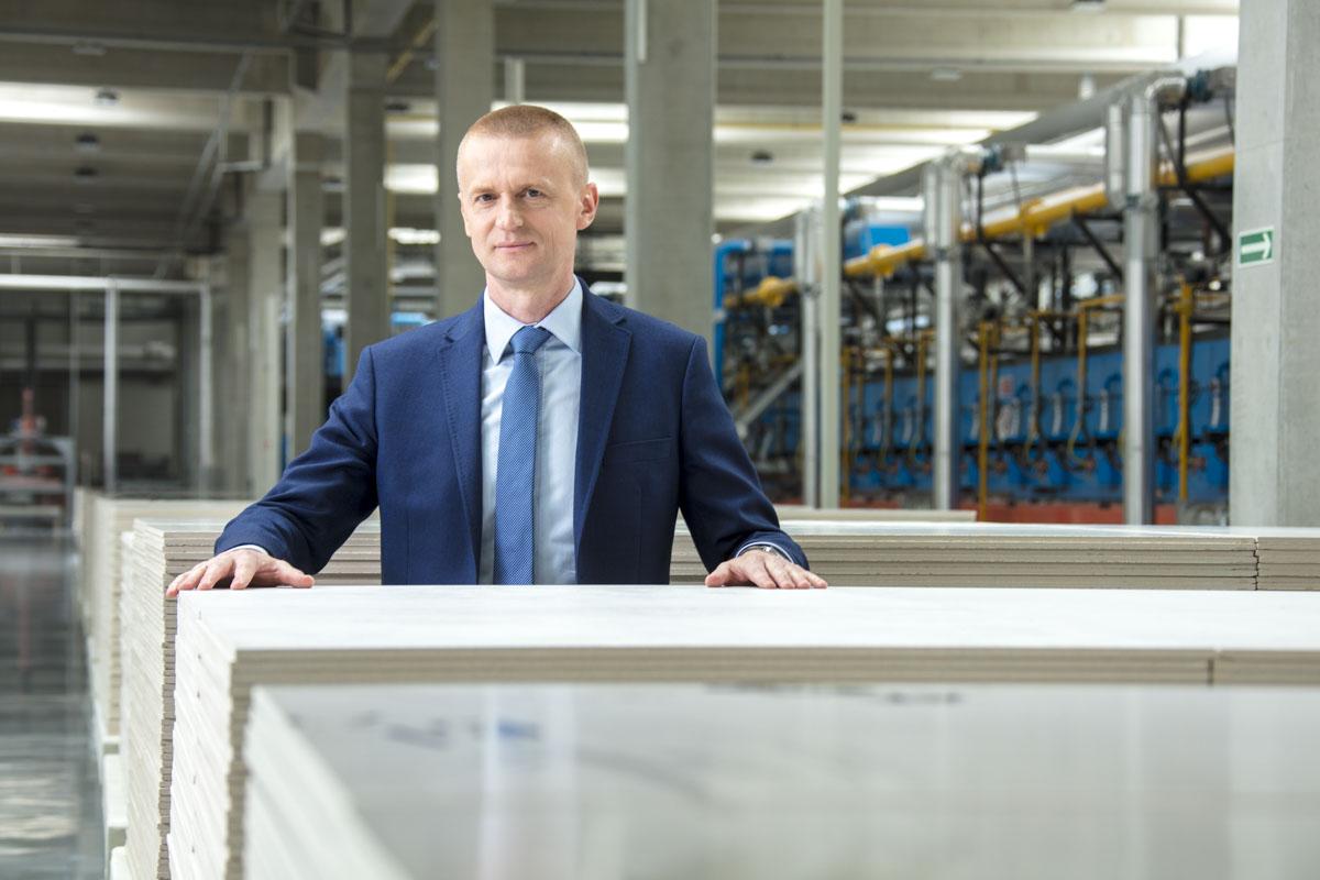 Mirosław Jędrzejczyk - Prezes Zarządu Grupy Tubądzin