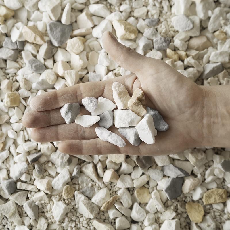 Originálne terrazzové podlahy boli vytvorené z veľmi jemných mramorových úlomkov